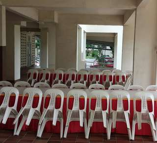 Mini Event Renting Chair Table Skirting N Tentage for All Occasions Event
