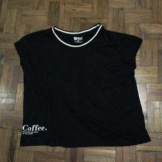 Cotton On T-bar black top