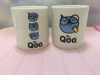 Limited Edition Qoo Mug x2