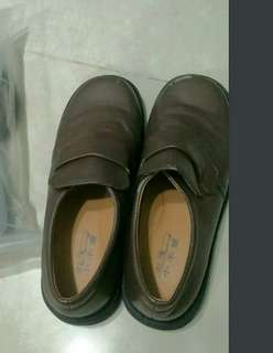 Brown Japanese School Shoes