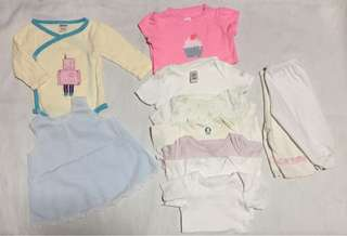 Pambahay set for baby girl 0-3 months