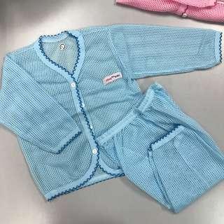Long sleeve eyelet Pyjamas set