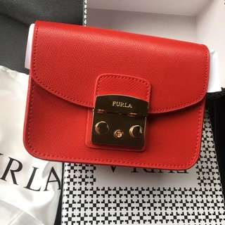 FURLA Metropolis Small Crossbody Bag