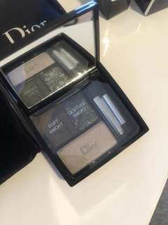 Dior 3color smoky eyeshadow (geniune)