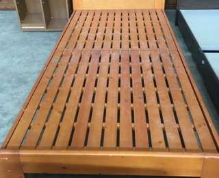 Single Frame Bed with Mattress