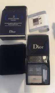 Brand new Dior 3color eyeshadow (geniune)
