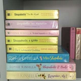 Sophie kinsella's collection ( pre loved)