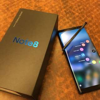 SAMSUNG NOTE 8 (BACK TO SCHOOL SALE UNTIL JUNE 5 ONLY)