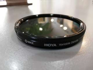 Hoya variable nd filter 62mm