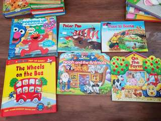 Toddler favorite characters story books