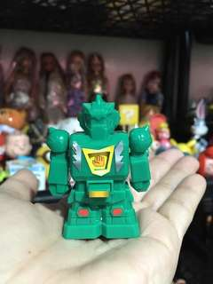 Small green robot from japan
