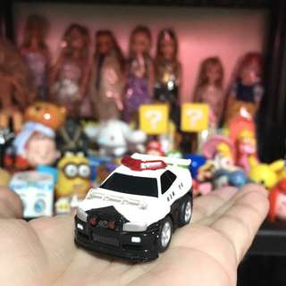 Small police car from japan