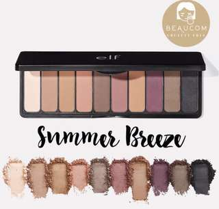 INSTOCK ELF Eyeshadow Palette Summer Breeze Matte