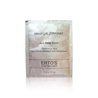 ERTOS Masker Jerawat/ Masker Acne ERTOS Powder