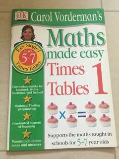 DK Maths made easy - Times tables