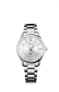Original stainless steel casio watchfor women with 1 yr warranty