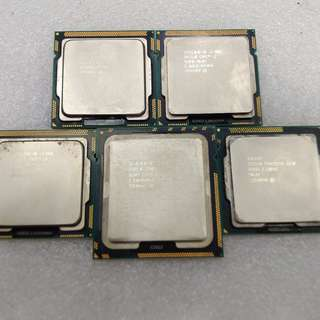 Used Intel CPU's