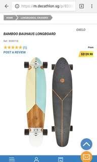 Longboard Bamboo Bauhaus