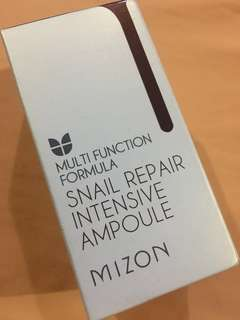 NEW (still sealed) Mizon Snail Repair Intensive Ampoule