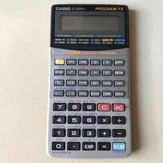 Casio fx-3900Pv 計算機
