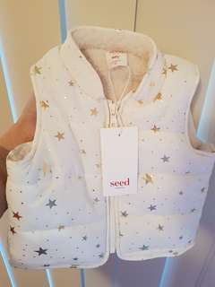 Brand new Seed vest size 00