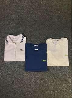 Lacoste Polo Shirt Women Combo