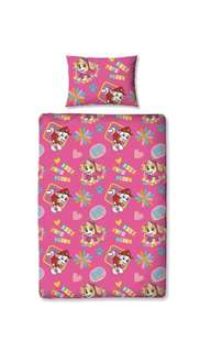 Paw patrol forever single quilt cover set