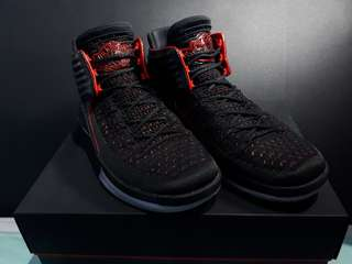 Air jordan xxxii bred limited