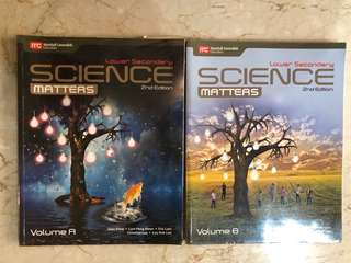 Lower Secondary Science (vol A and B)