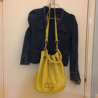 Marc by marc jacob 皮袋 leather bag