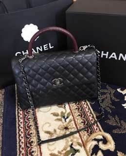 Pre love Chanel Coco Handle L size