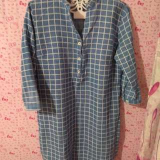 Pre loved soft denim dress
