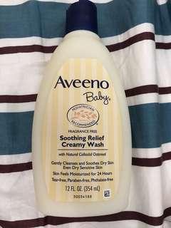 Aveeno Baby 沐浴乳霜