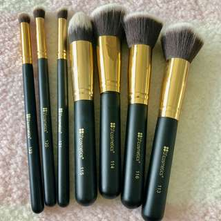 BH cosmetic Makeup Brush set