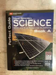 Lower Sec science perfect guide book A