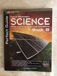 Lower Sec science perfect guide book B