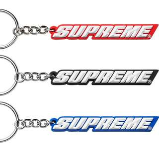 Supreme 18SS Keychain Red Blue Black