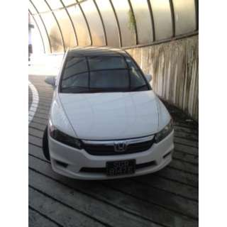 Honda Stream. Low rental, well maintained cars. Contact Vanessa 81448822  for booking details