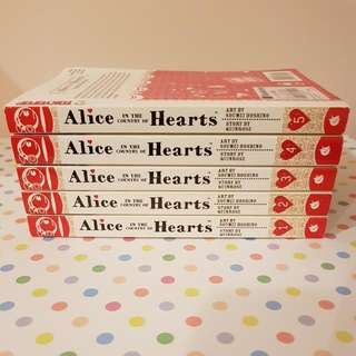 Alice In The Country Of Hearts Vol 1-5