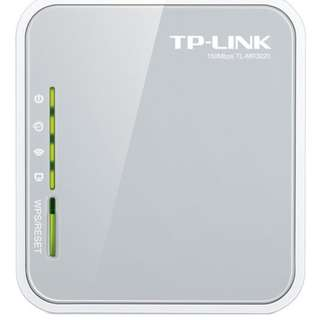 TPLINK TL-MR3020 Portable Wireless-N 3G Router (150Mbps)