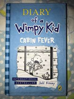 Dairy of a Wimpy Kid Cavin Fever, hard cover