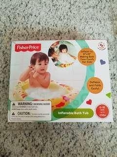 Fisher Price Inflatable Bathtub Lion