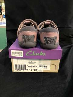 [INC POS] CLARKS PUPPET FUN LEATHER SHOES
