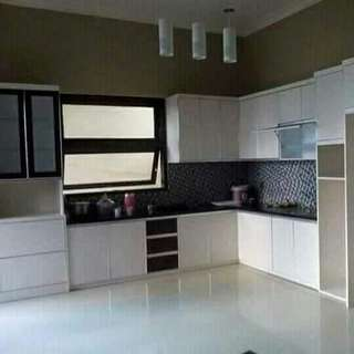 Kitchen sett, lemari baju, lemari pakaian, backdrobe TV dll