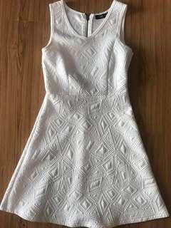 Folded & Hung White Dress