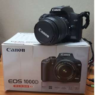Canon DSLR EOS 1000D