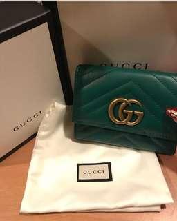 🚚 Gucci女短夾