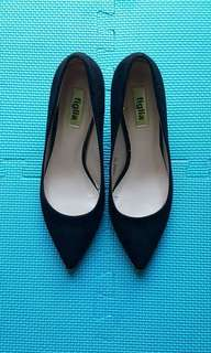 Figlia black high heels shoes