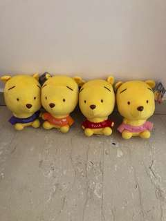 BN 20cm Pooh Collectible Bundle of 4
