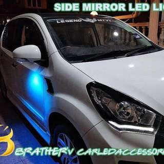 Nice Side Mirror LED Light